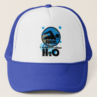H2O_SWIMMER TRUCKER HAT