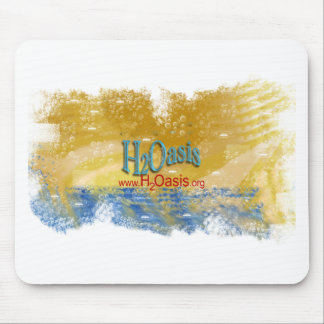 H2Oasis Logo Products Mouse Pad