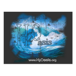 H2Oasis Logo Products Postcard