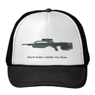H3-BR55-Rifle_large, Dont even waste my time. Trucker Hat