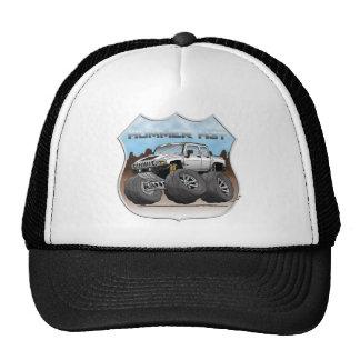 H3T_WHITE TRUCKER HAT
