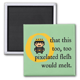 H4ML3T (magnet) 2 Inch Square Magnet