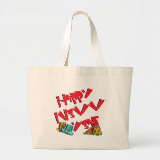 H4ppy N3w Y34rs L33T Canvas Bag