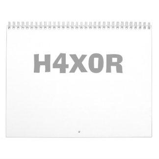 H4X0R CALENDARS