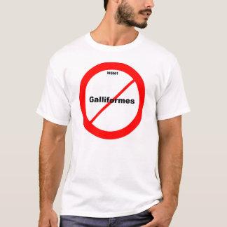 H5N1 No Galliformes T-Shirt