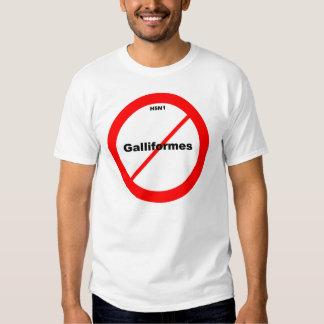 H5N1 No Galliformes T-shirts