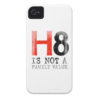 H8 is not a family value Faded.png Case-Mate iPhone 4 Cases