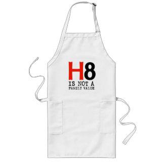 H8 no es un valor familiar delantales