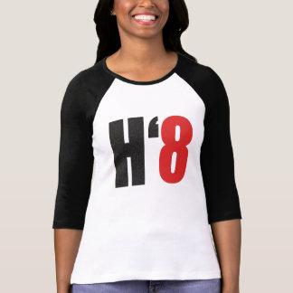 H8TE - Vote no en el apoyo 8 Playera