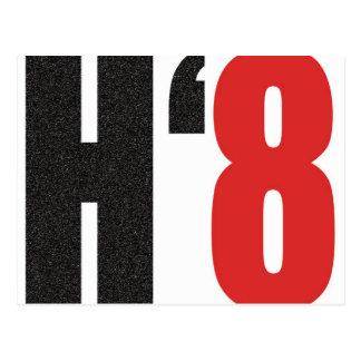 H8TE - Vote no en el apoyo 8 Tarjeta Postal