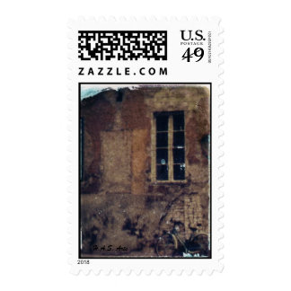 H.A.S. Artes, sello polaroid ocre