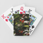 H.A.S. Arts Red Berry Playing Cards