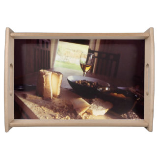 H.A.S. Arts small serving tray natural, Gleb