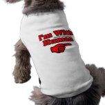H.A.W. Estoy con la camiseta humana del perrito Ropa De Perro