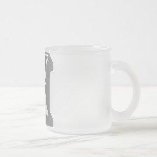 H Alphabet Letter Tee Coffee Mugs