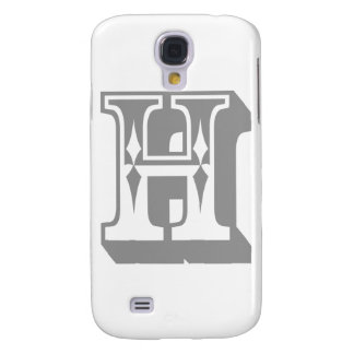 """H"" Alphabet Letter Tee Samsung Galaxy S4 Case"