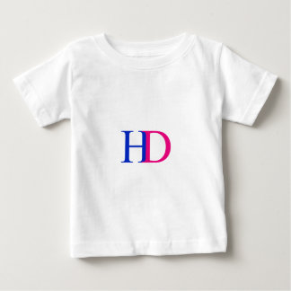 H and D graphic Baby T-Shirt