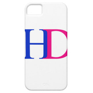 H and D graphic iPhone SE/5/5s Case