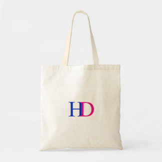 H and D graphic Tote Bag