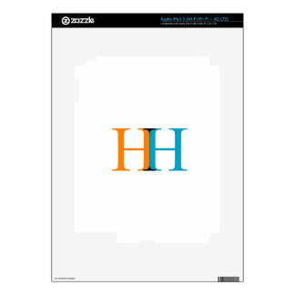 H and H graphic Decal For iPad 3