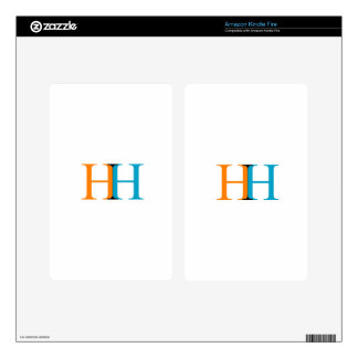 H and H graphic Decals For Kindle Fire