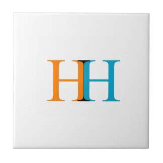 H and H graphic Tile