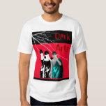 H-Art Smoking Girl T-shirts customizable