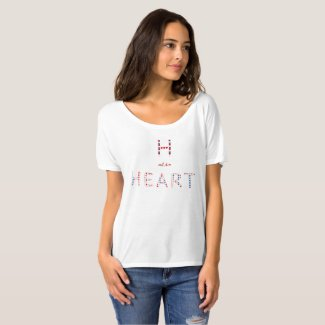 H as in Heart T-Shirt