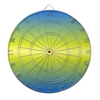 H Bi-Linear Gradient - Blue to Yellow Dartboards