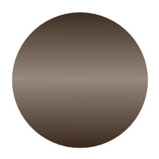 H Bi-Linear Gradient - Dark Brown and Light Brown Poker Chips