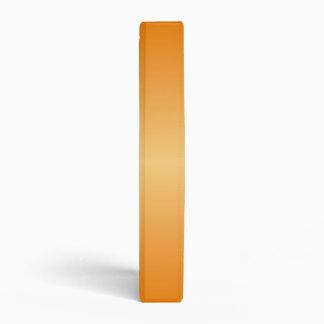 H Bi-Linear Gradient-Dark Orange and Light Orange Vinyl Binders