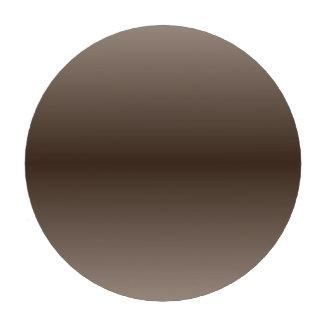 H Bi-Linear Gradient - Light Brown and Dark Brown Poker Chips Set