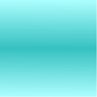 H Bi-Linear Gradient - Light Cyan and Turquoise Statuette
