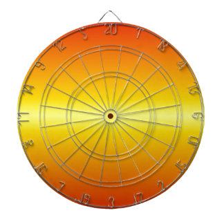 H Bi-Linear Gradient - Red to Yellow Dartboards