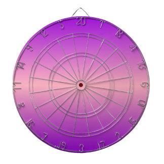 H Bi-Linear Gradient - Violet and Pink Dart Board