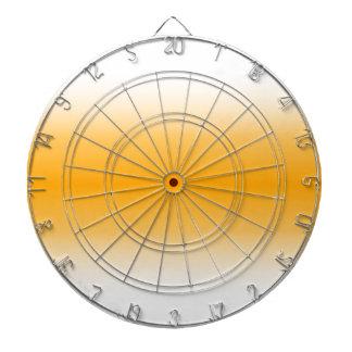 H Bi-Linear Gradient - White and Orange Dart Boards