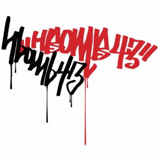 H-Bomb Graffiti Cutout