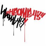 H-Bomb Graffiti Photo Cutout