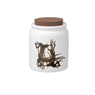 H branch Candy Jar