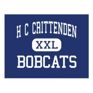 H C Crittenden Bobcats Middle Armonk Postcard