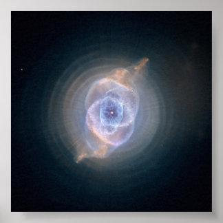 H Cat's Eye Nebula Print
