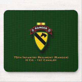 H Co, 75.a infantería - guardabosques - 1r Cav - V Alfombrillas De Ratones