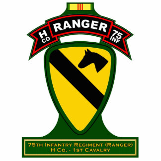 H Co, 75th Infantry Regiment - Rangers, Vietnam Statuette