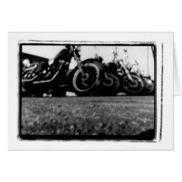 H D bikes Card