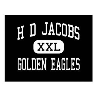 H D Jacobs - Golden Eagles - High - Algonquin Postcard