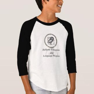 H.E.L.P. 3/4 Sleeve Boys  Two tone Shirt