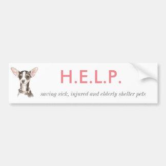 H.E.L.P. Bumper Sticker