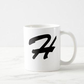 H está para caliente taza de café