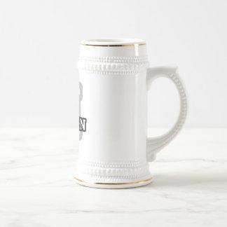 H está para el cielo taza de café