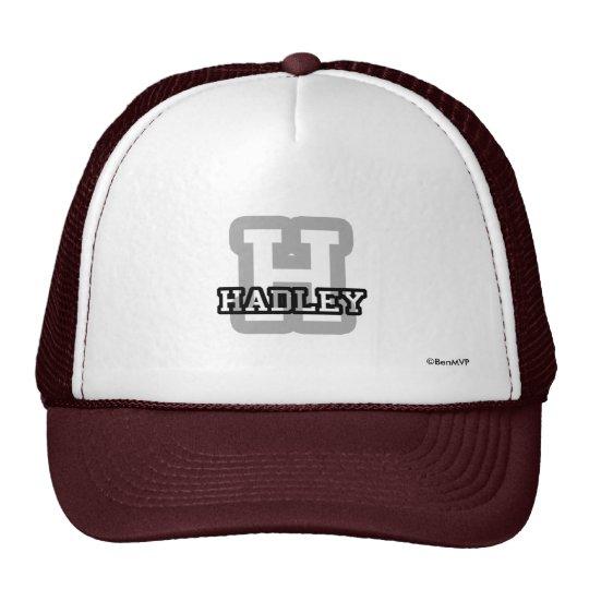 H está para Hadley Gorros